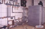 Kocioł kondensacyjny, paliwo-PB (zbiornik wkopany)