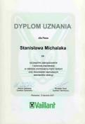 Vaillant dyplom uznania