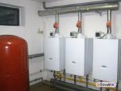 Kotłownia gazowa moc 200KW